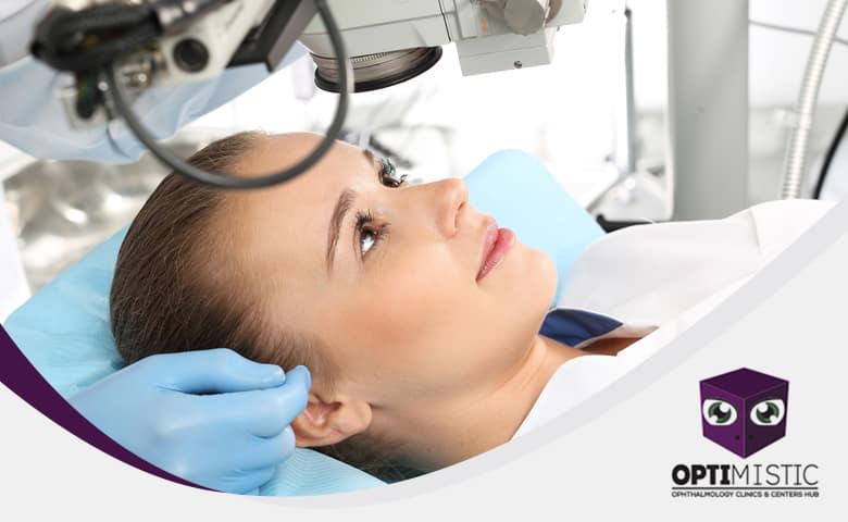 انسداد القناة الدمعية المقصود به أن عينك لا تصرف دموعك بشكل طبيعي، فيصبح لديك عين هائجة دامعة نتيجة إما الانسداد الجزئي أو الانسداد الكلي
